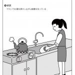 厨房業務 -食器洗い