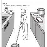 清掃 厨房の清掃