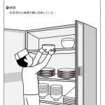 片付け 食器の収納